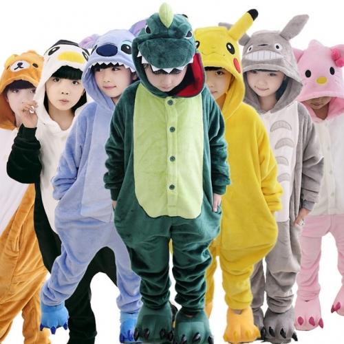Детские пижамы в виде животных