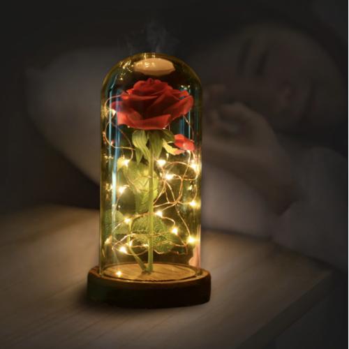 Цветочная светодиодная настольная лампа