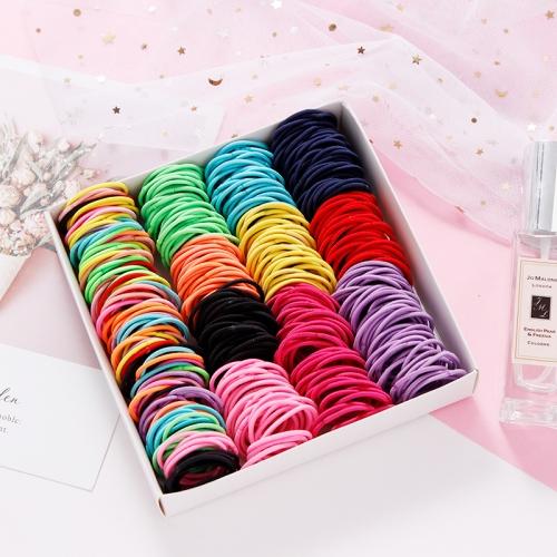 Нейлоновые резинки для волос, 100 шт и более 75 тыс.заказов