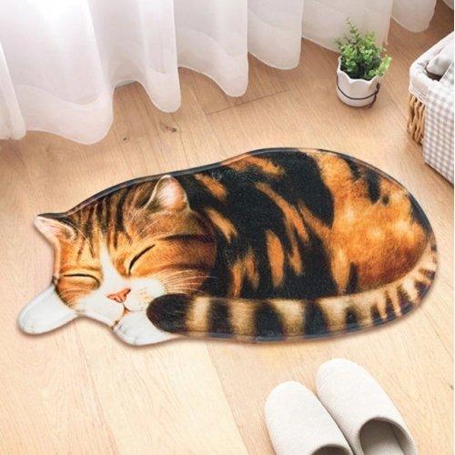 3D-коврик в виде кошечки