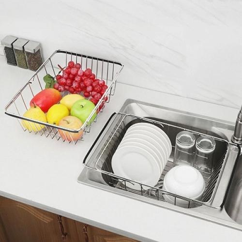 Сушилка для посуды, регулируется по длине