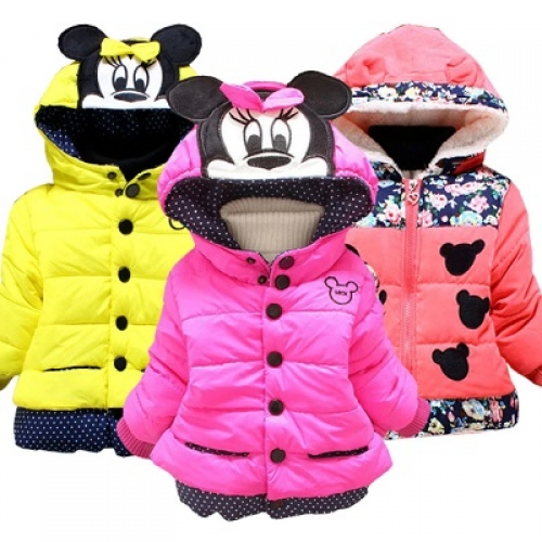 Куртки для маленьких девочек, Осень-Зима