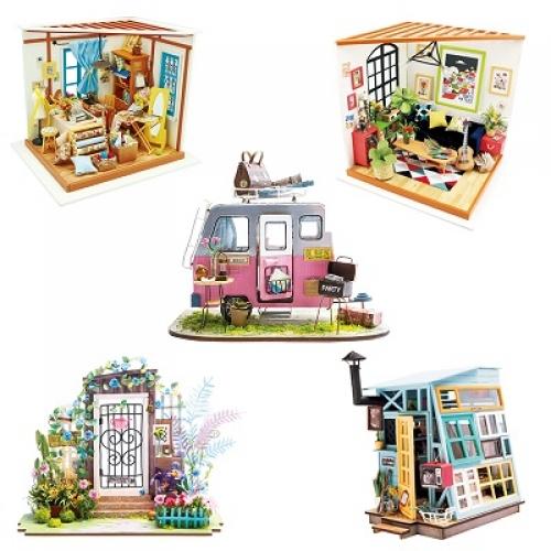 Кукольный домик с мебелью для девочек