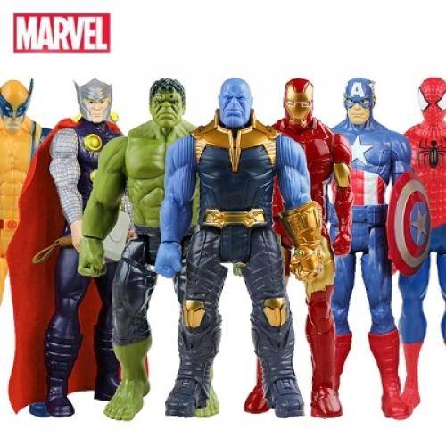 Супергерои Marvel: Танос, Халк, Мстители, Росомаха и другие