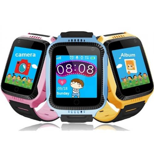 Детские смарт-часы с sim-картой, GPS и фонариком
