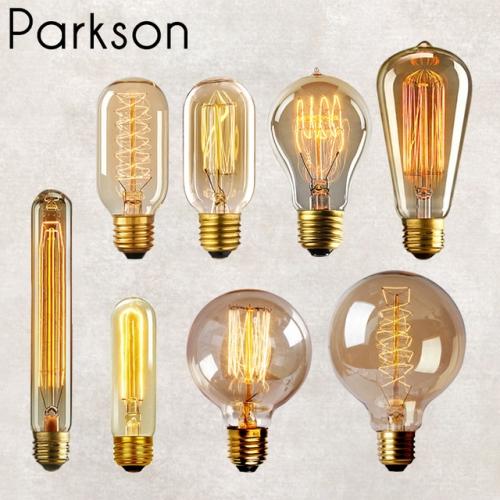 Модные лампочки Эдисона любой формы