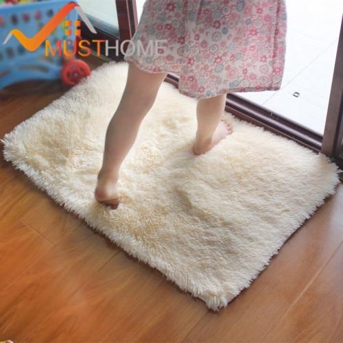 Лохматый мягкий коврик (11 расцветок)