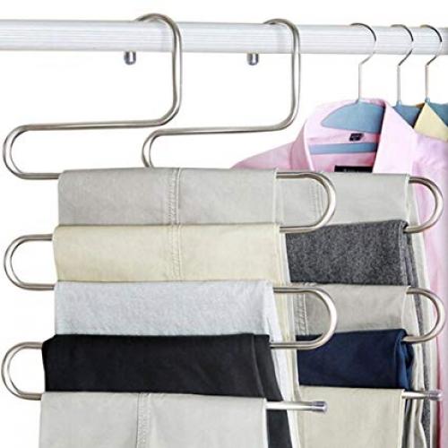 Вешалка для брюк и галстуков, 5 уровней