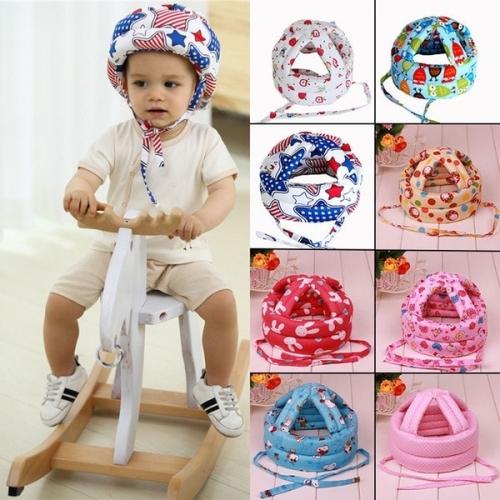 Детский хлопковый защитный шлем