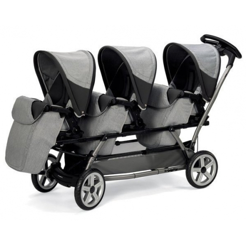 Коляска для тройни Peg-Perego Triplette Pop-Up