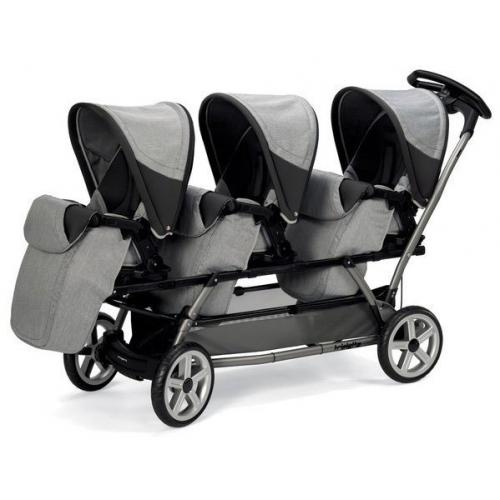 Детская коляска для тройни Peg-Perego Triplette Pop-Up