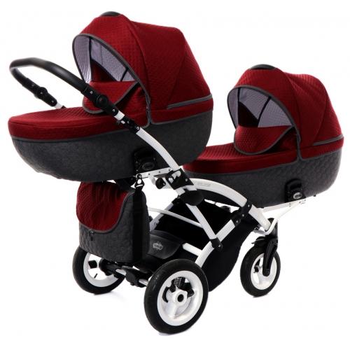 Детская коляска для двойни Tako Jumper 5 Duo Slim