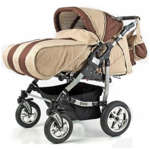 Детская коляска для двойни Adbor Duo NEW