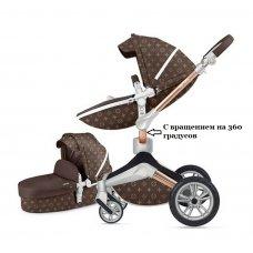 Коляска Hot Mom Loui Vuitton New 360