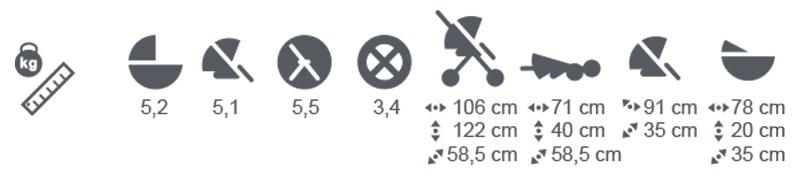 Универсальная коляска Adamex Cortina Special Edition